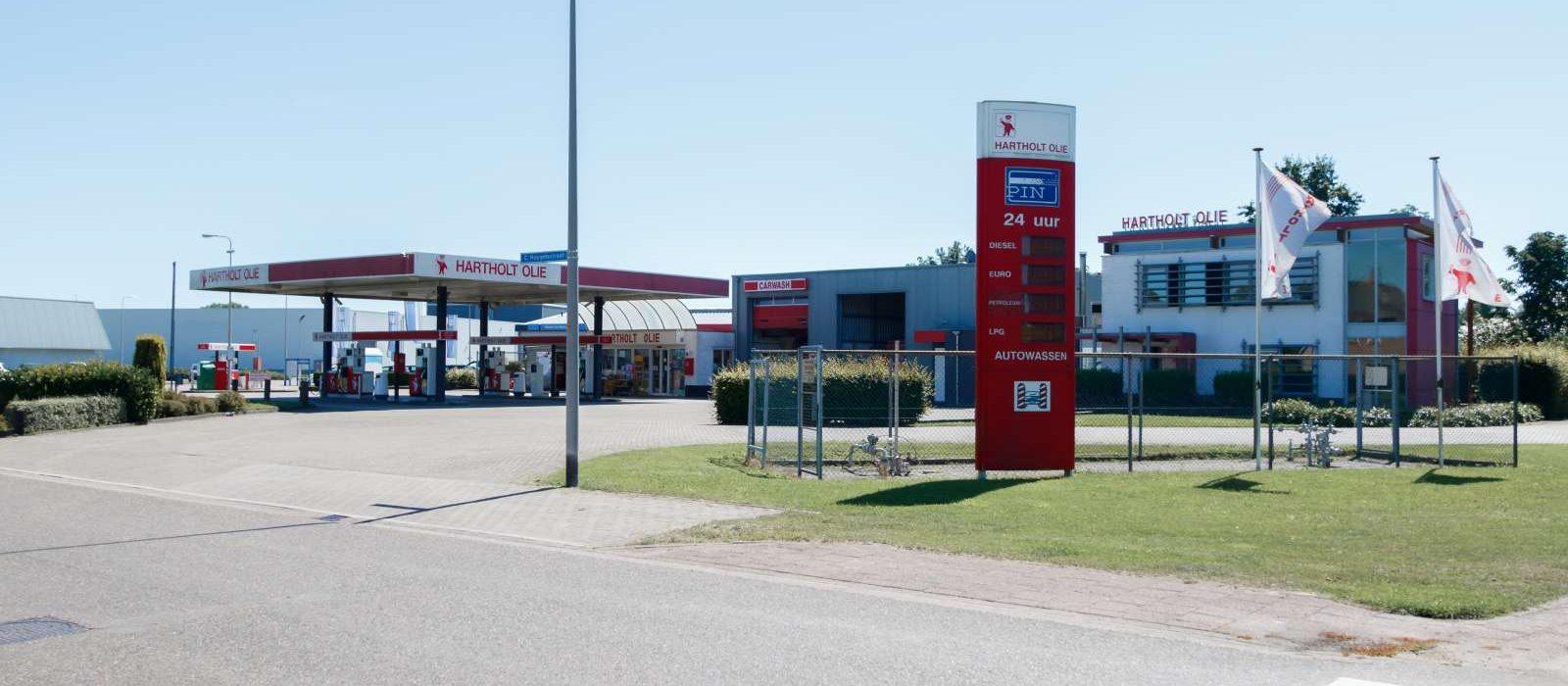 Hartholt Olie benzinestation Heino